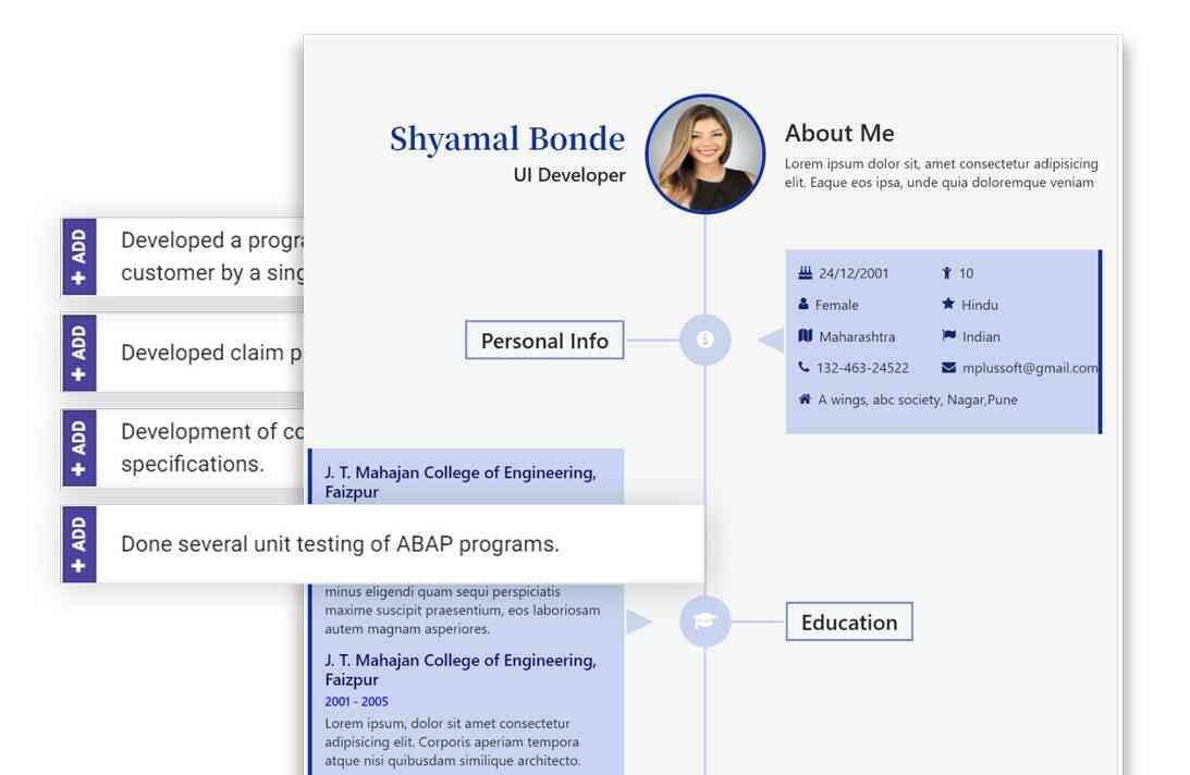3 Easy steps to create an impressive resume